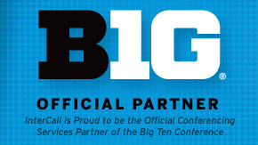 InterCall is the proud conferencing partner of the Big Ten Conference