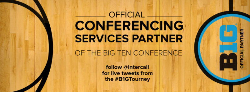 InterCall to live tweet the 2014 Big Ten Tournament